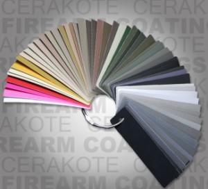 Cerakote palete boja